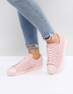 buy online fe9cc 92972 Trendy Clothes, Shoes & Accessories | New In Womenswear | ASOS Sneakers In  Pelle,