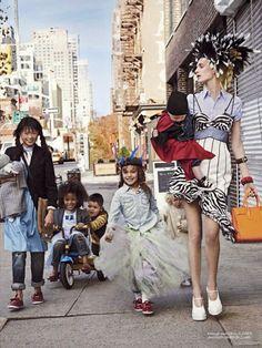 Гирлянда из малышей (CR Fashion Book S/S #4) / Обзор журналов и фотосессий / ВТОРАЯ УЛИЦА