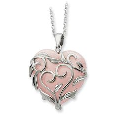 Sterling Silver & Rose Quartz Generous Heart 18in Necklace Hazrati http://www.amazon.com/dp/B00EE0UFGG/ref=cm_sw_r_pi_dp_QncLwb1W45FTX