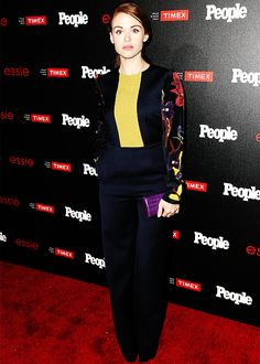 Holland Roden attends People's 'Ones To Watch' event on October 9,2014.