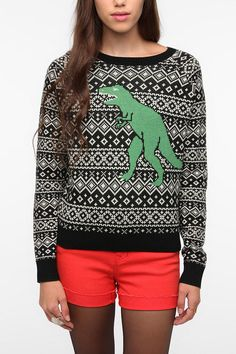 I need/love this so much. cooperative fair isle kitsch sweater. $59