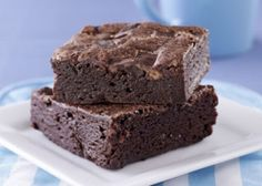 Vegan brownies that are easy to make! The cameo appearance of black beans add a boost of protein and fiber.