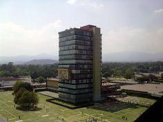 Torre de Rectoría C.U. - Mario Pani Darqui