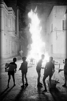 "Spain in the 60s - Barcelona 60s ""Nit de Sant Joan"""