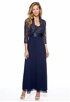 Another navy option...Mother of the groom dress belk
