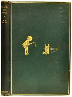 Winnie The Pooh - FIRST EDITION - 1926 - by A. A. Milne