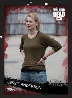 topps The Walking Dead Card Trader Expansion Base Red Jessie Anderson S5  | eBay