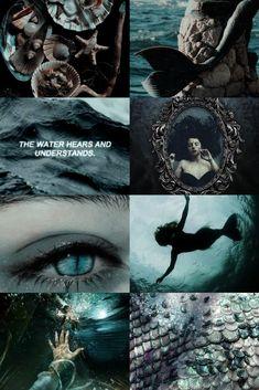 Dark Mermaid, Siren Mermaid, Mermaid Art, The Little Mermaid, Mermaid Song, Witch Aesthetic, Book Aesthetic, Aesthetic Collage, Lila Baby