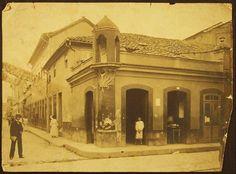 Centro do Rio de Janeiro, rua da Alfândega - 1906