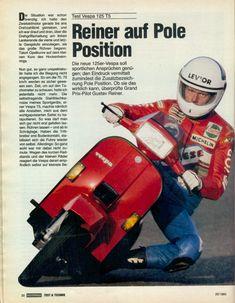 Vespa 125, Vintage Vespa, Vespa Excel, Triumph Motorcycles, Scooter Garage, Ww2 Propaganda Posters, Ducati, Chopper, Motocross