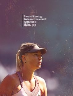 -Maria Sharapova! amen!