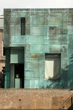 super cool patina building  Sarpathistraat Offices  Steven Holl Architects  photographyed by asli aydin