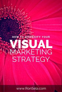 How to Diversify Your Visual Marketing Strategy @ronselaWhen looking at blogging as a whole, there is one element that everyone can agree as the most important: the content. Quality, style, topic, timeliness and variety are all part of the process of creating an effective blog. But it also touches on social media and engagement, marketing and even branding.