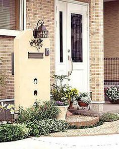 Nameplate, Gate, Exterior, Arquitetura, Home Entrances, Shower Door, Puertas, Portal, Address Signs