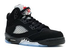 0a39dc94745e what store sells authentic air jordan 5 gs retro 2016 black fire  red-metallic silver-white