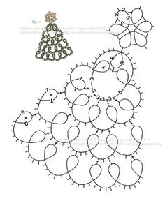 Fulgi de zăpadă ... tatting decoratiuni de Craciun. Discuție privind te gratuit acum! - Serviciul rus jurnal online