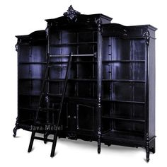 Gothic book shelf.
