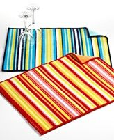 Fiesta Dish Drying Mat, Vertical Stripe