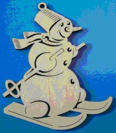 Diy Wood, Wood Crafts, Wood Ornaments, Scroll Saw, Wooden Toys, Madness, Snowman, Christmas Crafts, Snoopy