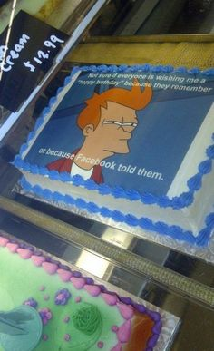 Totally my next birthday cake lol