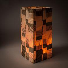 Wooden lantern, http://www.christian-masche.de/Windlicht-Shop/Holz-Windlicht/Verleimtes-Windlicht-Holz