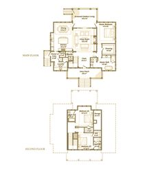 Palmetto Bluff Aynsley Low Country, Country Living, Family Homes, New Homes, Palmetto Bluff, Long House, Floor Plan Layout, Cottage Plan, Cabins And Cottages