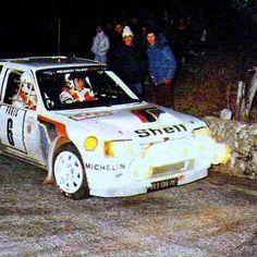 Monte Carlo 1985 Timo Salonen.