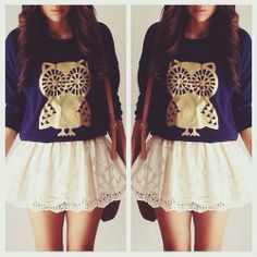 love the skirt...it may be a little short...if it was longer tho - adorbs! ~Emma