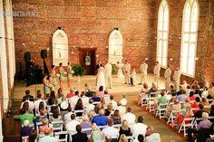 Saint Thomas Preservation Hall   A Wilmington, North Carolina Wedding Venue   www.partyista.com