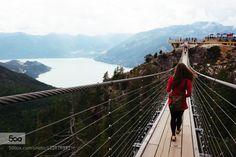 Sea to Sky Rope Bridge by akaoka  Canada Vancouver rope bridge akaoka