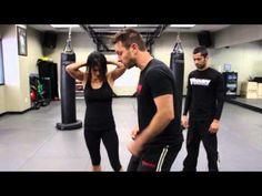 Hair Grab w/ Impending Strike - Krav Maga Technique - AJ Draven Self Defense KMW - Ep. 31 - YouTube