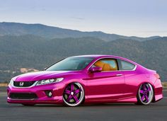 Pink Honda #CarFlash #FightBreastCancer