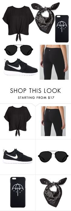 """""""Untitled #43"""" by rachelsi on Polyvore featuring lululemon, NIKE, 3.1 Phillip Lim and Alexander McQueen"""