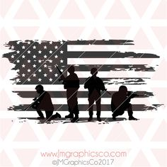 Soldier Tattoo, Soldier Silhouette, American Flag Decal, Army Tattoos, Patriotic Pictures, Etched Mirror, Military Drawings, Spiritual Images, Cricut Air