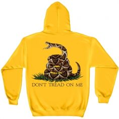 Don't Tread on Me Hooded Sweatshirt. #usmc #marinecorps #marines #marine #sweatshirt #emarinepx
