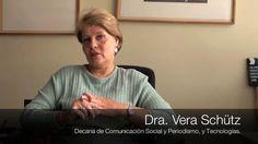 Cambios en el Plan de Estudios de Comunicación Social y Periodismo, y Tecnologías. by boletin.UJTL. Dra. Vera Schütz, decana del programa de Comunicación Social y Periodismo, y la Tecnología de Cine y Televisión, y Tecnología en Producción Radial, explica en que consiste los cambios a los planes de estudios.