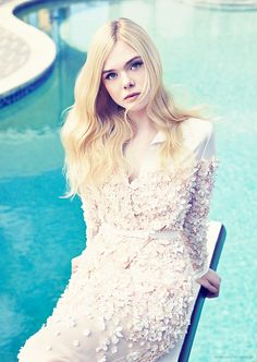 Elle Fanning by Williams + Hirakawa • 2014