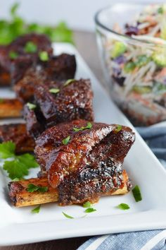 BBQ Short Ribs without a Grill – Honest Cooking