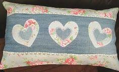 Cath Kidston Hearts Cushion