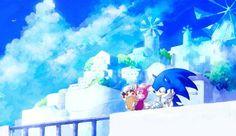 Sonic and Chip Sonic The Hedgehog, Hedgehog Art, Silver The Hedgehog, Sonic Unleashed, Sonic Funny, Sonic Adventure, Sonic Fan Art, Comic Covers, Kawaii Anime