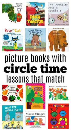I love circle time lessons but the key to making circle time a success is to keep it short and engaging. A wonderful opening like this good morning song is a must followed by a daily ritual like this chant or calendar, then it's time for a story and activity. Below you will find some …