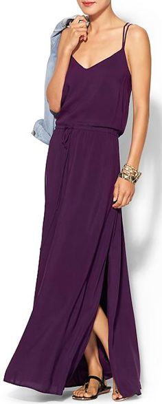 dark #purple maxi dress http://rstyle.me/~2dJMH