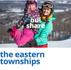 #Ouiski, in the Eastern townships : 25% off on skiing and lodging ! #SkiQuebec #easterntownships