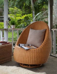 wicker chair image - Google Search