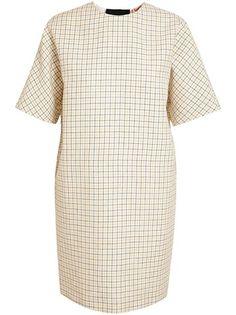 Nº 21 Checked Linen Dress