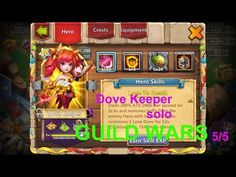 Dove Keeper solo Wars Guild 06/09/2018 - Castle Clash