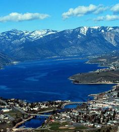 Lake Chelan, Washington State. I grew up right on the lake near Wapato Point in Manson. Awesome childhood memories.