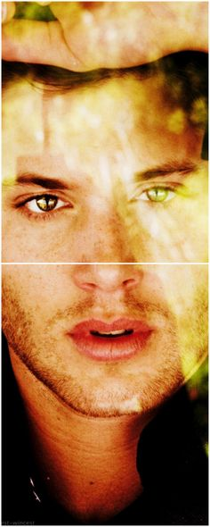 It's like he's staring right at you <3 #JensenAckles.. One of my fav pics of him