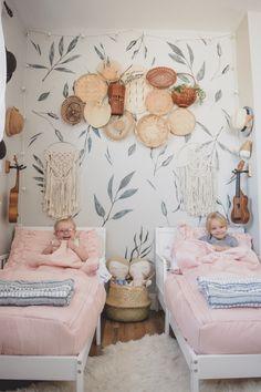 Boy Girl Shared Bedroom Decorating Ideas Luxury D Big Girl Boho Room Projectnursery Girls Bedroom, Bedroom Decor, Twin Girl Bedrooms, Room Girls, Twin Girls, Bedroom Ideas, Master Bedroom, Boho Room, Shared Rooms
