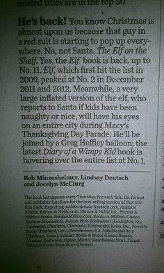 USA Today reminds us to watch for the Wimpy Kid Balloon during Macy's Thanksgiving Day Parade!